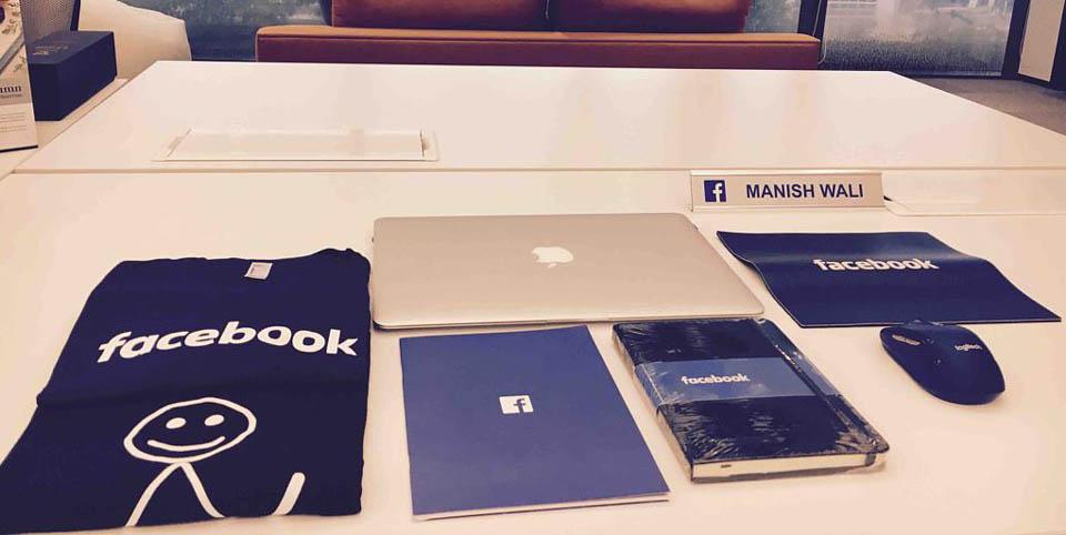 Regalos de empresa bienvenida en Facebook