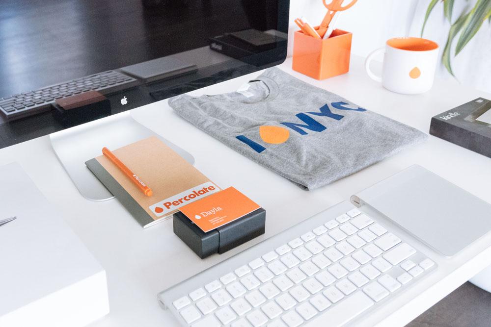 Merchandising empresa Percolade