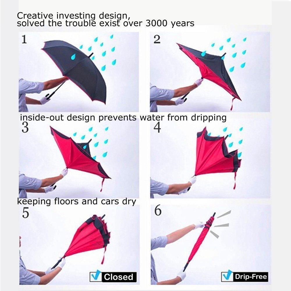 paraguas originales reversibles