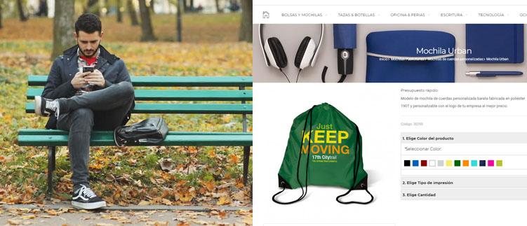 Comprar mochilas personalizadas online